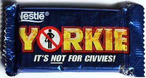 Nestle Yorkie