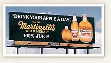 Martinellis reklamı